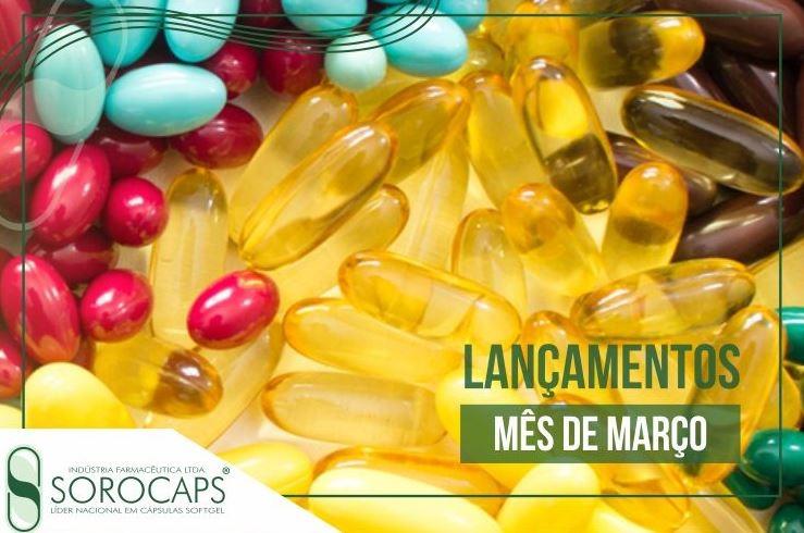 Sorocaps Indústria Farmacêutica Lançamentos-Março-blog Sorocaps lança produtos para bem-estar, saúde das articulações e memória
