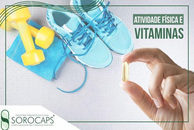 Sorocaps Indústria Farmacêutica atividade-física-e-vitaminas-blog Atividade física e vitaminas, uma harmonia que dá certo