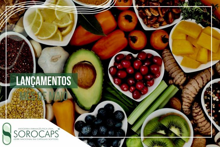 Sorocaps Indústria Farmacêutica lançamentos-maio-blog-1 Sorocaps lança cápsulas veganas 100% naturais